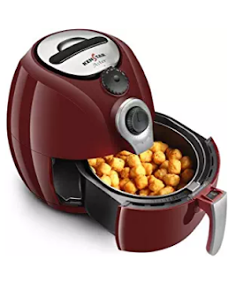 Kenstar Aster 1500-Watt Oxy Fryer(Cherry Red)