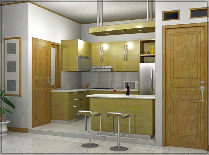 Dapur Rumah Minimalis Ukuran 3 x 3 yang Nyaman dan Bersih ...