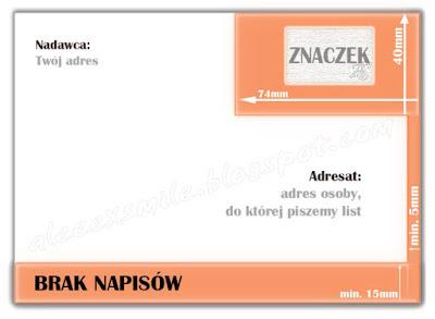 Adresowanie koperty, jak adresować list, pisanie listu, odbiorca, nadawca, adresat Poradnik