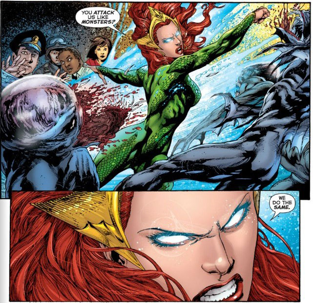 Aquaman #2 By Geoff Johns, Ivan Reis, Joe Prado, Rod Reis, Nick J. Napolitano