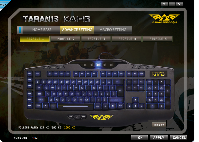 Unboxing & Review: Armaggeddon Taranis Kai-13 Gaming Keyboard 69