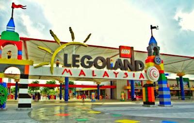 LegoLand Malaysia main entrance