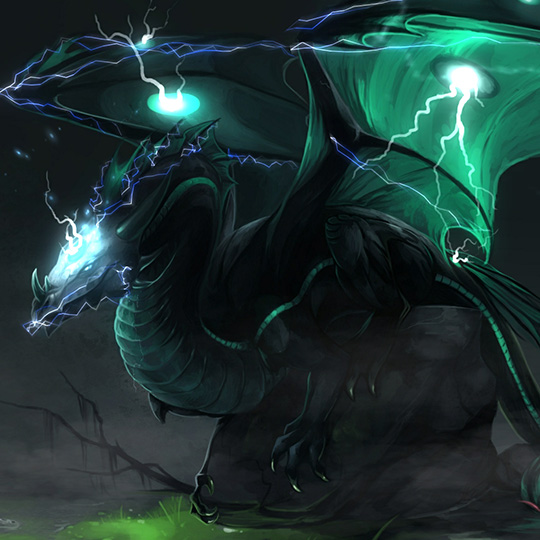 Great Lightning Dragon Wallpaper Engine