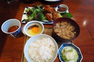 Suju Japanese Restaurant, tori karaage teishoku