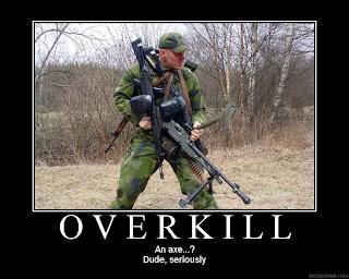 Image result for Overkill Meme