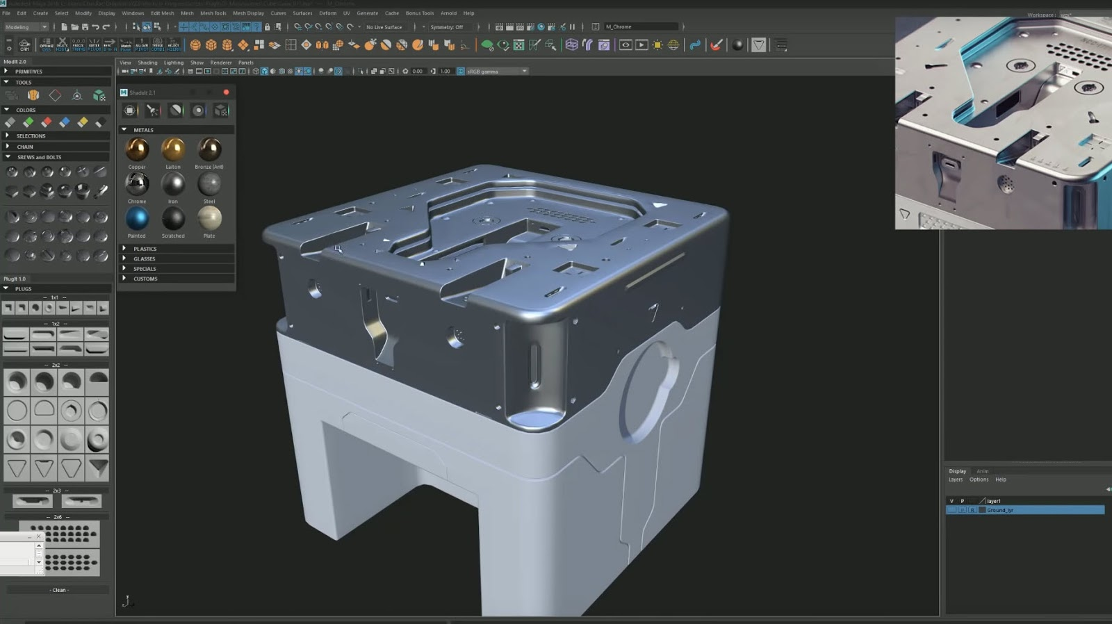 PlugIt for Autodesk Maya - Plugins Reviews and Download free