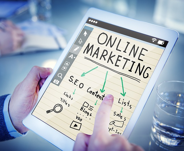 Strategi pemasaran online marketing