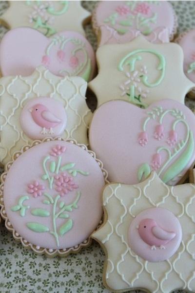 Floral Cookies.