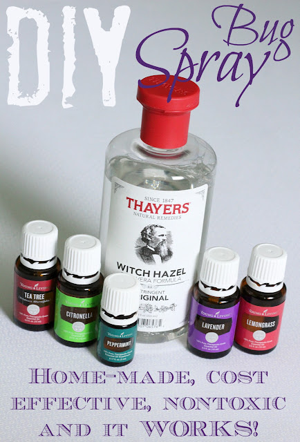 This DIY bug spray is super easy to make and it WORKS! Great for kids too