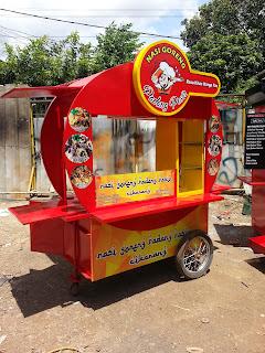 model gerobak nasi goreng