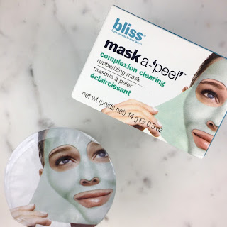 "Bliss Spa Mask-a-""Peel"" Complexion Clearing Rubberizing Mask quick review"