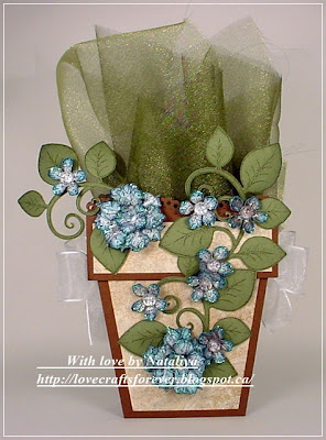 Heartfelt Creations Decorative Flower Pot