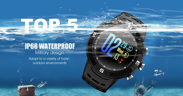 Top 5 Best and cheap IP68 waterproof smartwatches  2018/2019