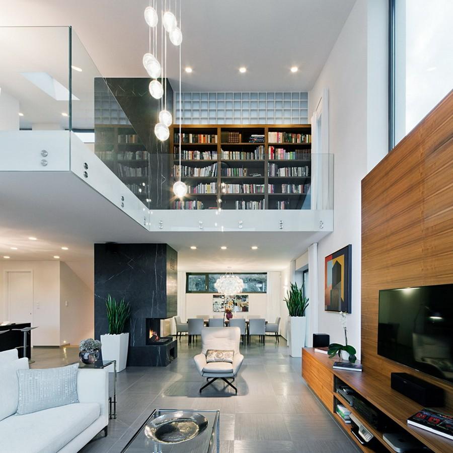 Cozy Living Room Design In