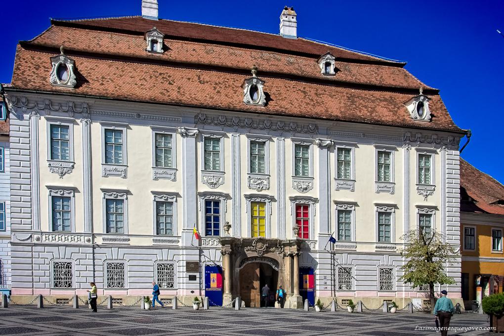 Sibiu, Rumanía. Esplendor en la Edad Media