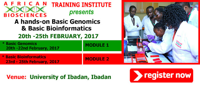 Flyer for Genomics and Bioinformatics Workshop - Feb 20th - 25th, 2017