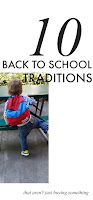 Back to School Traditions your kids will love
