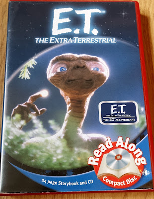 e.t. the extra terrestrial read along cd