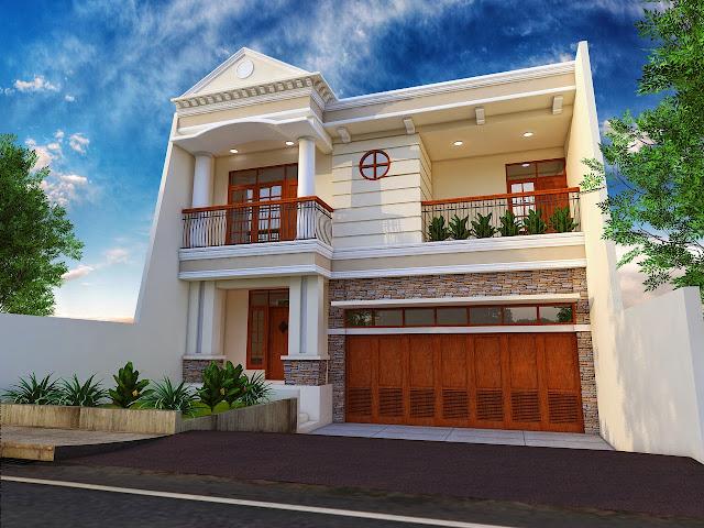 Denah Rumah Mewah Bertingkat Terbaru