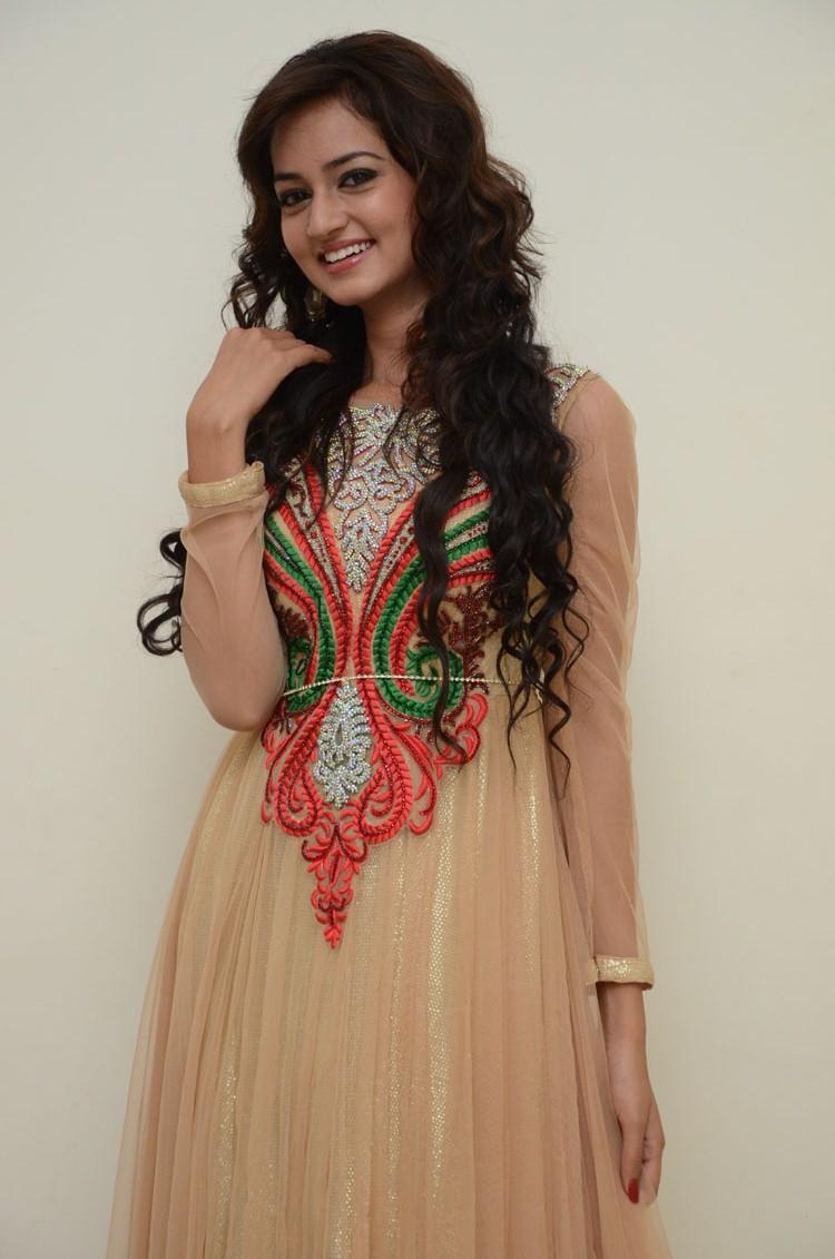Cute and sweet Shanvi in designer salwar suite latest cute stills