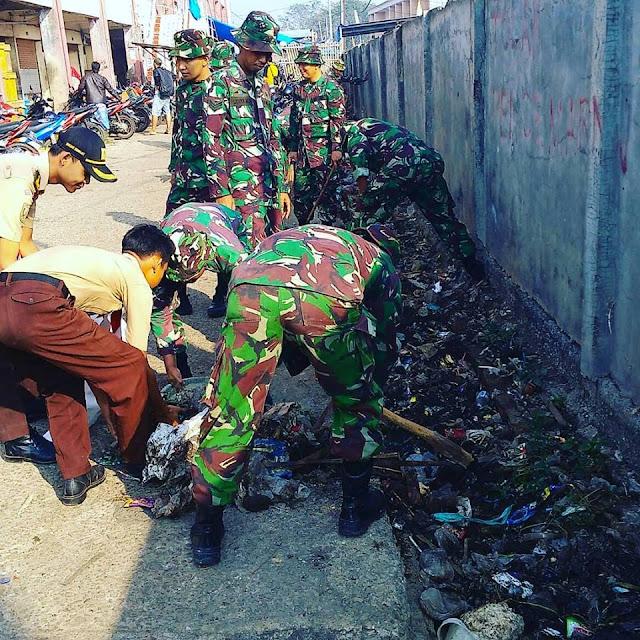 Kodam Jaya Sukses Gelar Karya Bakti Skala Besar Di Bekasi