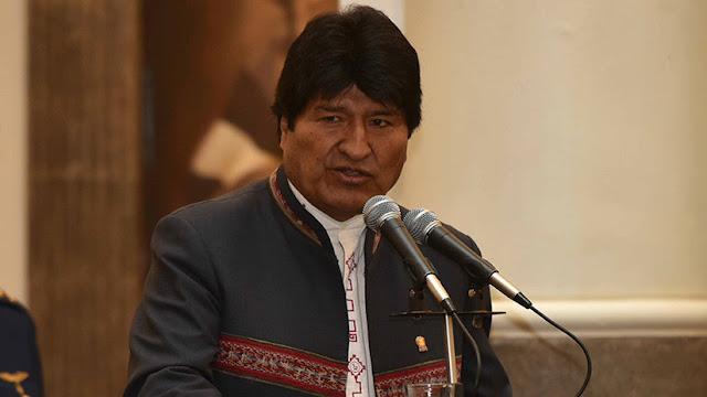 """Evo Morales advierte a Trump que """"se tragará"""" sus palabras """"contaminadas de racismo y fascismo"""""""
