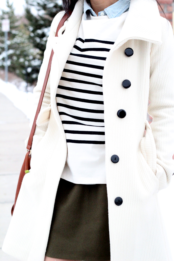Stripes, Chambray and Olive