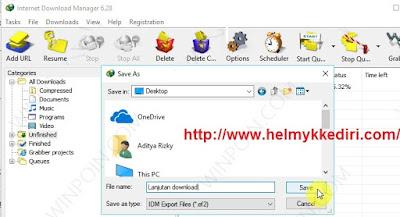 Melanjutkan download file dikomputer lain3