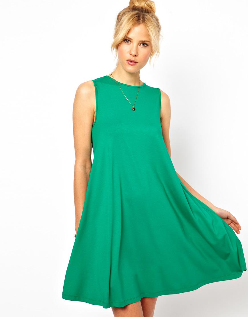 Pretties Closet Asos Sleeveless Swing Dress