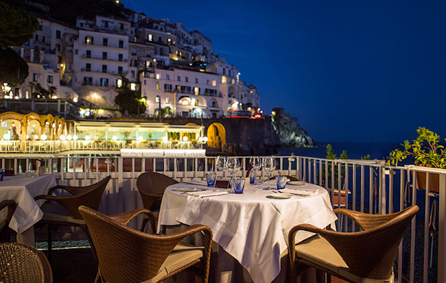 Ristorante Marina Grande em Amalfi na Costa Amalfitana