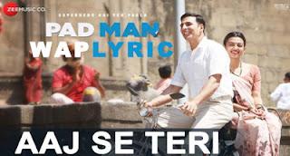 aaJ Se Teri Lyrics padman Lyrics.jpg