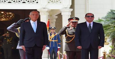 القمة المصرية البرتغالية