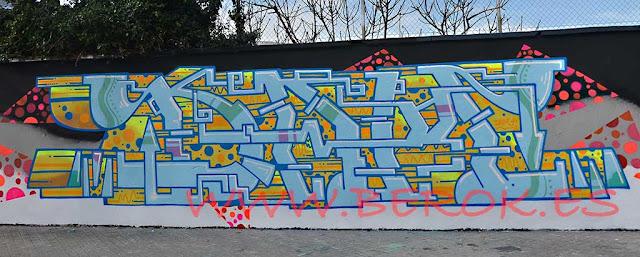 Donde pintar graffiti en Barcelona