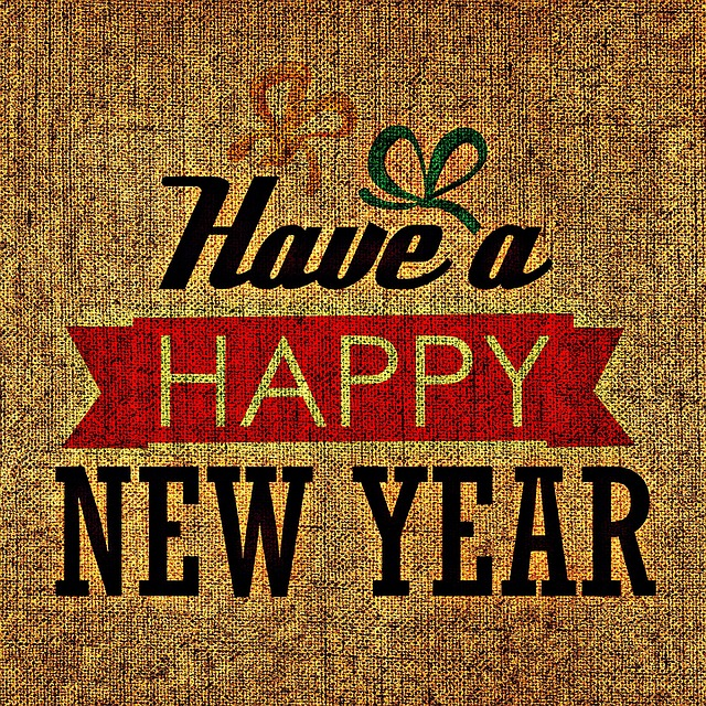 year end new year screensavers