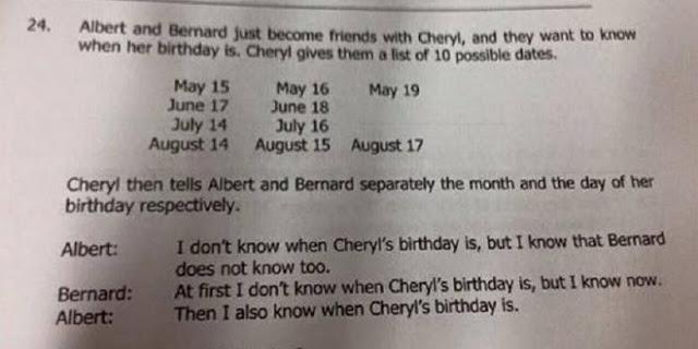 Soal Matematika Asal Siswa Singapura ini Gegerkan Dunia dan Sulit Dipecahkan