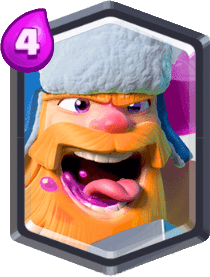 Carta do Lenhador do Clash Royale