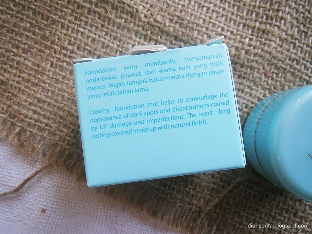 REVIEW : Wardah Everyday Luminous Creamy Foundation Extra