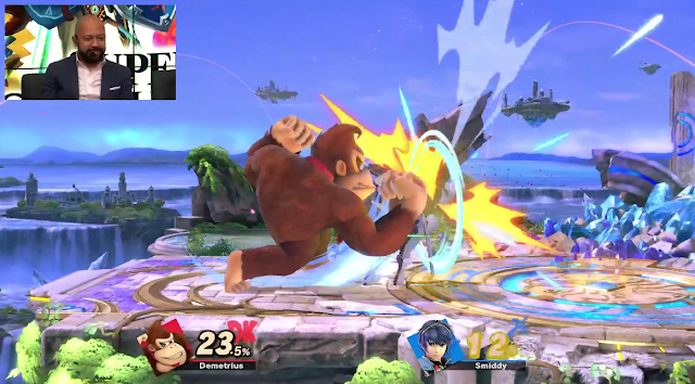 Super Smash Bros. Ultimate Donkey Kong jab Marth
