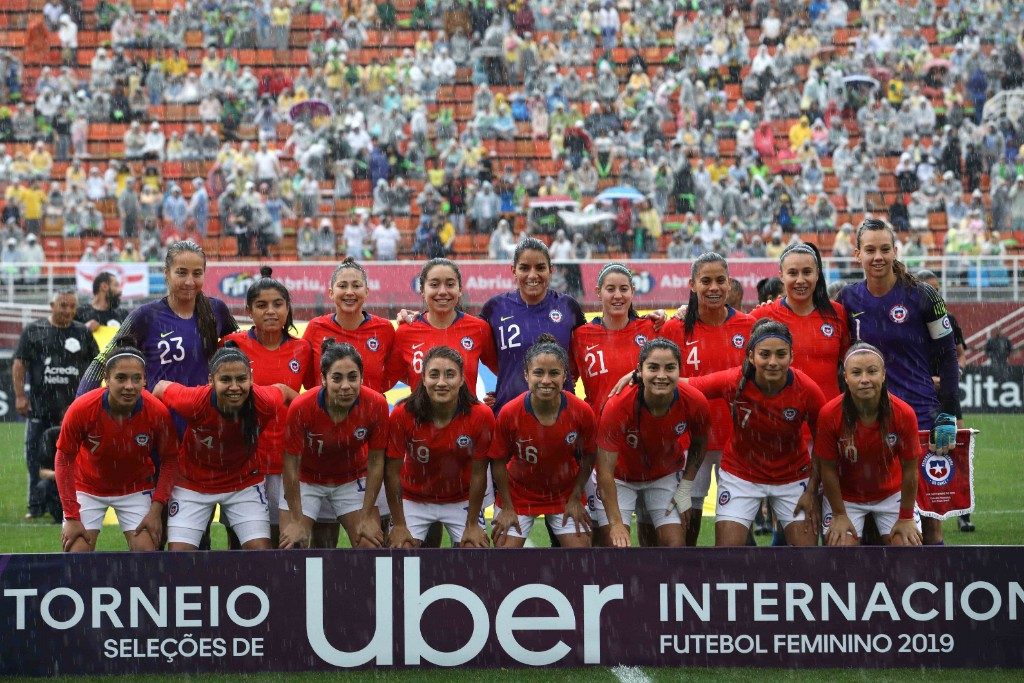 Formación de selección femenina de Chile ante Brasil, Torneio Uber Internacional de Futebol Feminino de Seleções, 1 de septiembre de 2019