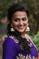 Actress Shraddha Srinath in Purple Chania Choli Cute Pics ~  Exclusive 46.jpg