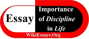 Essay on  importance of Discipline in Life