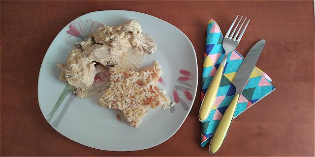 Το πιο εύκολο κοτόπουλο αλα κρεμ που έχεις μαγειρέψει ποτέ