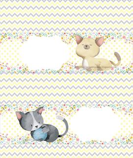 Mini Kit de Gatitos para Imprimir Gratis.