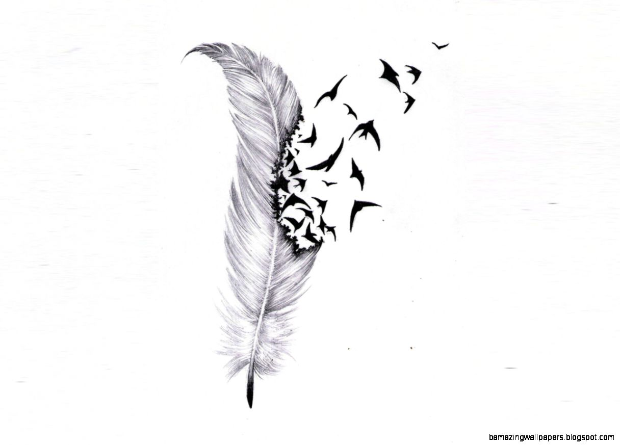 Flying Bird Tattoo Drawing | Amazing Wallpapers |Flying Birds Drawing Tattoo