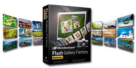 Wondershare flash gallery