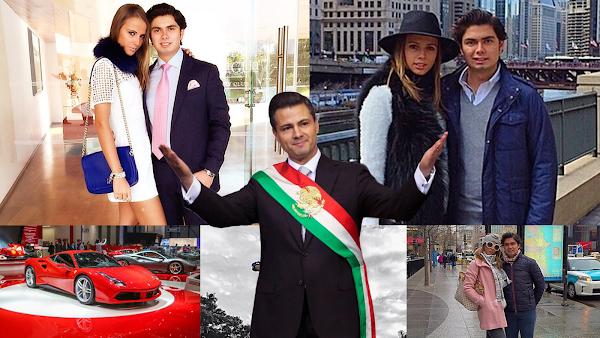 """Consideran en Estados Unidos """"millonario y corrupto"""" al hijo del Presidente Enrique Peña Nieto."""