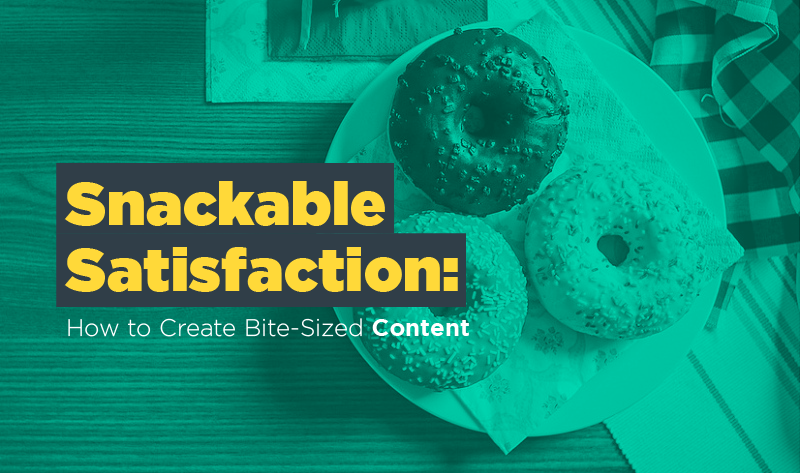 Snackable Satisfaction: Bite-Sized Content Tastes Even Better On Mobile - #infographic