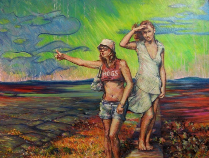 Американский художник. Greg Lahti