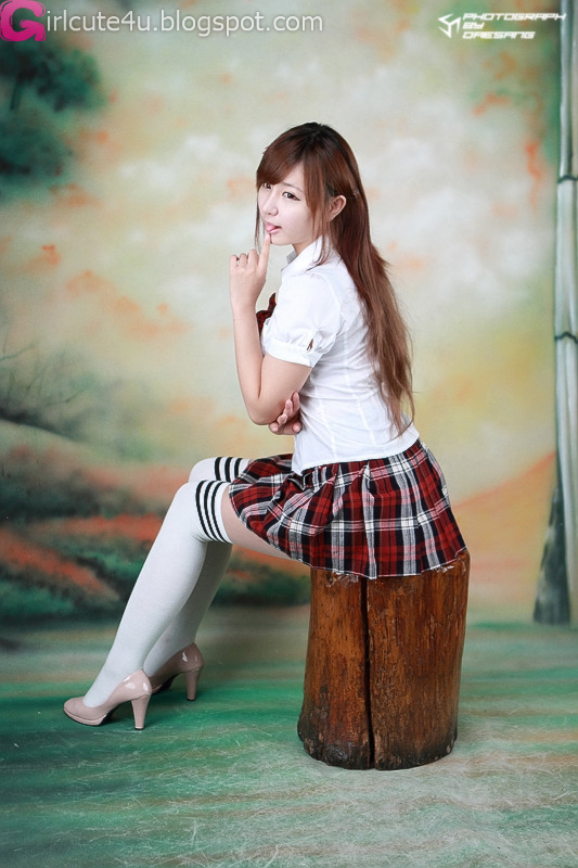 Ryu Ji Hye - School Girl  Cute Girl - Asian Girl