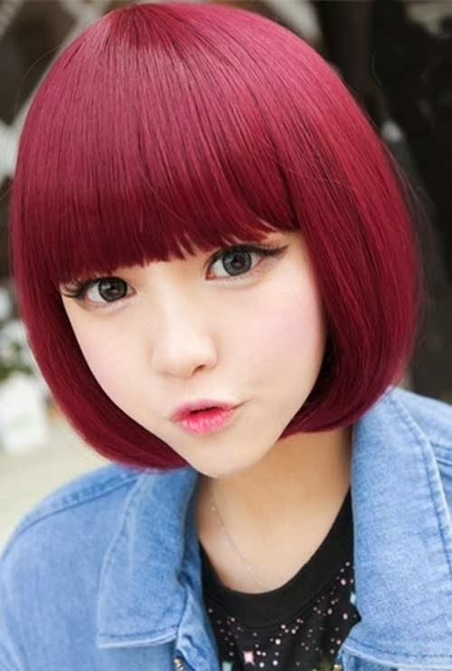 chines hair style best bob hairstyle in new year 2014 trendy 8868
